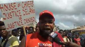 Our Culture Is Nothing Without A Chief--Sekondi Chieftaincy Protesters