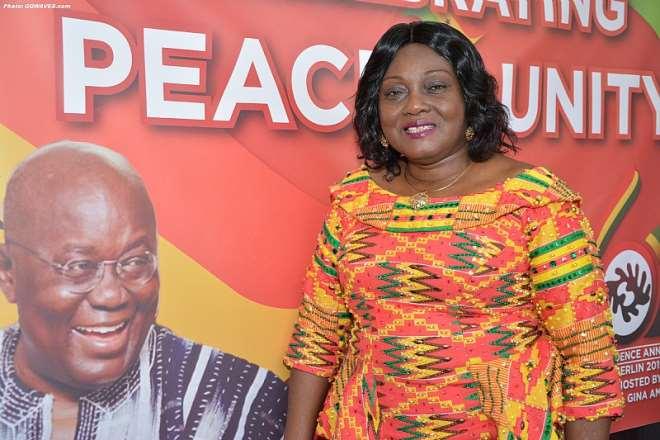 H.E. Mrs. Gina Ama Blay - Ghana Ambassador to Germany