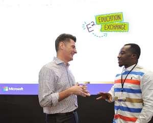 Standing Ovation For Ghanaian 'Blackboard ICT Teacher' In Singapore