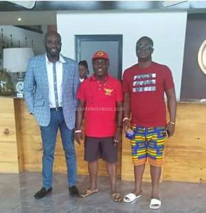 George Afriyie Arrives In Zambia To Support Kotoko Ahead Of Zesco Encounter In CAF CC