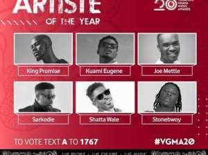 VGMAs @20: Shatta Wale, Stonebwoy, King Promise Lead With 8 Nominations Each, Sarkodie 7
