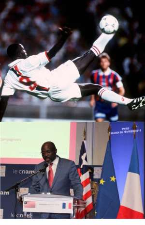 Liberia's Weah Strikes Big! Tangibles Under 90 Days!