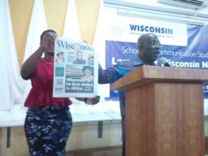 Wisconsin University Unveiled Its Campus Newspaper