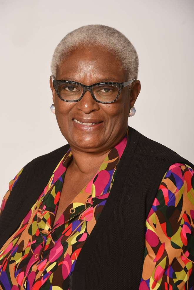 Ms Yvonne Kgame – Chairperson, Ithemba Trust