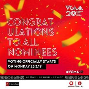 VGMA 2019 Voting Begins