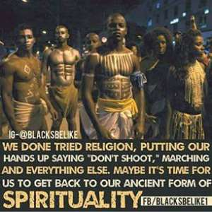 The Spirituality of the African race