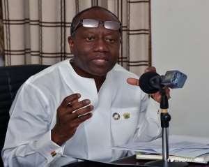 Gov't to set up c'ttee to probe cedi fall- Ofori-Atta