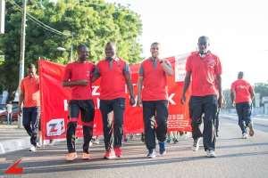 Zenith Bank Holds 2019 Health Walk Today