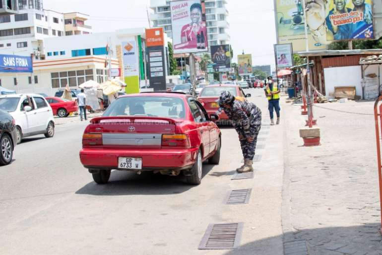 Covid-19 Lockdown: More Padlocks Than People In Accra Photos