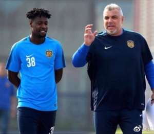 Richmond Boakye Handed No.38 Shirt At Chinese Super League Side Jiangsu Suning