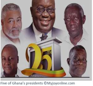 Ghana's Leaders In Pespective