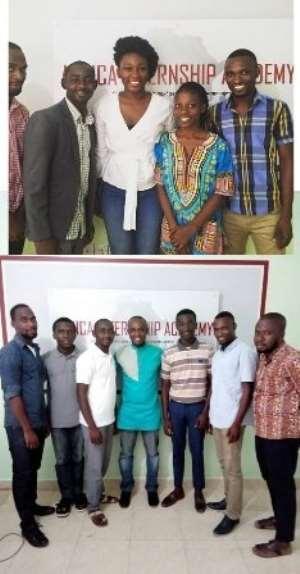 Africa Internship Academy Begins Training