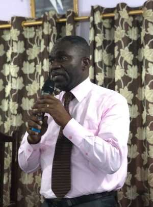 Member of Parliament For Akyem Oda, Mr. William Agyapong Quaittoo