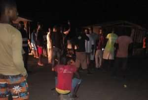 Nuaso Residents Burn Tyres To Protest 'Dumsor'