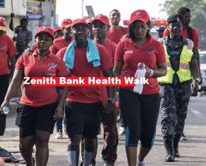 Zenith Bank Holds Health Walk To Create Awareness On Healthy Living