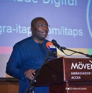 Filing Of Tax Returns Now Digital--Bawumia