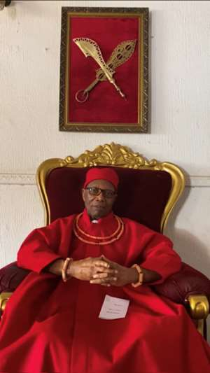 Prince Edun Akenzua, a noble and consistent campaigner for restitution.