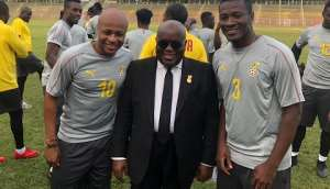 Andre, Gyan Met Prez Nana Addo Over Black Stars Winning Bonus - Kwadwo Baah Agyemang