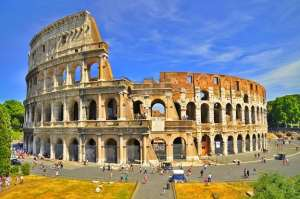 The Colosseum, one of the most visited tourist attractions in Rome