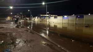 Nkrumah Interchange Flooded After Sunday's Heavy Downpour