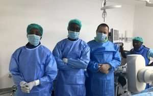 Surgeons Performs First Brain Surgery In Ghana Without Cutting Skull