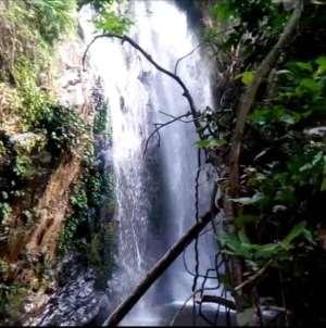 Shiare waterfalls; the hidden treasure of Nkwanta