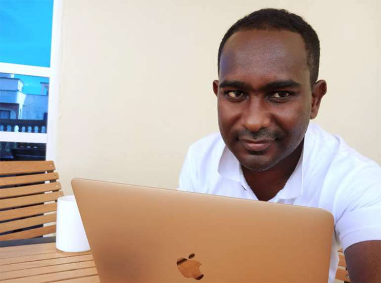 Somali freelance journalist Abdalle Ahmed Mumin. (Abdalle Ahmed Mumin)