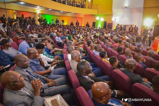 Maiden Economic Management Team's Town Hall Meeting In Ghana