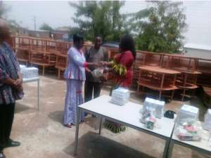 KGs In Bolga Receive Furniture Support From CESRUD