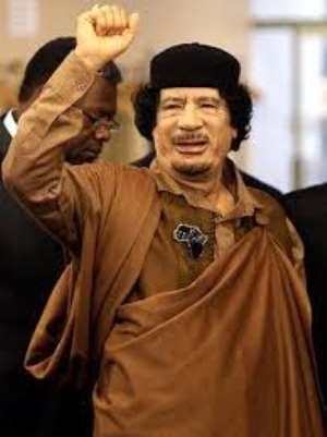 Muammar Qaddafi, one of Africa's greatest leaders feared by European and American governments