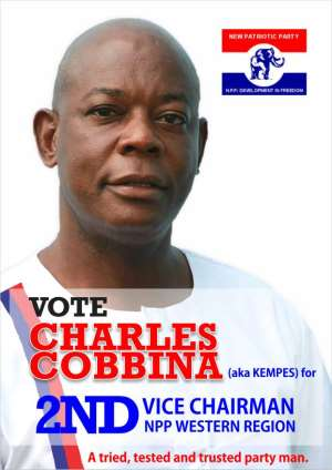 NPP Regional polls: Charles Cobbinah launches campaign at Mpohor