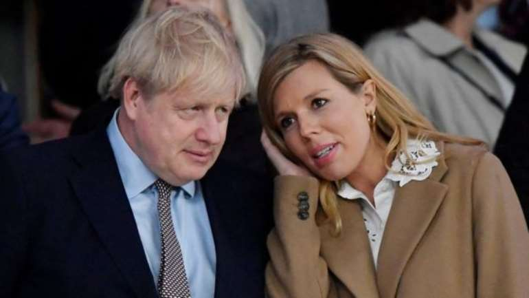 Boris Johnson and Carrie Symonds