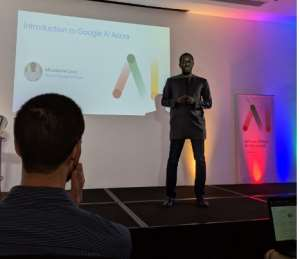 Moustapha Cisse, Head of Google Accra AI Laboratory