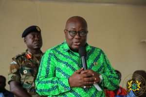 Akufo-Addo Promises To Equitably Share Resources Across New Regions