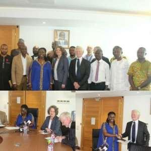 Eastern Corridor Fibre Optic Network Extension Handed Over To Ghana