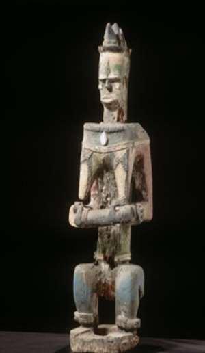 Mother and child,Urhobo,Nigeria, now in Afrika Museum,Berg en Dahl, Netherlands.