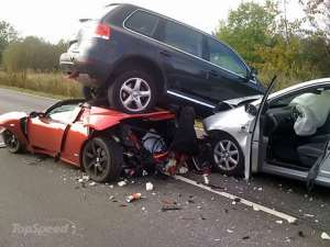 Police Officer, Daughter Die In A Car Crash At Suhum