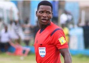 AFCON 2019: Daniel Laryea The Only Ghanaian Referee Selected For Tournament  Daniel Laryea The Only Ghanaian Referee Selected For Tournament XGltYWdlc1xjb250ZW50XDQxNzIwMTkxMjI4MDJfMWowNDFxNWNjd19yZWZlcmVlLnBuZ3wzMDB8MTgwfDQvMTcvMjAxOQ