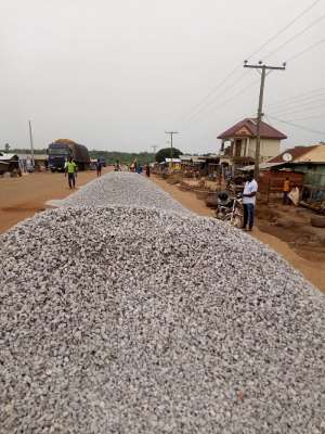 Work Begins On Debibi Town Gutters