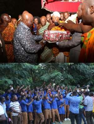 President assures creation of Ahafo Region in 18 months