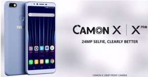 The New Tecno Camon X Is Currently Selling In Ghana At GHC740