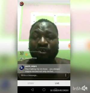 'I  Walked From Tema To Circle For Two Years'- Funny Face Shares Struggles Before Fame In Teary Video To Motivate Others