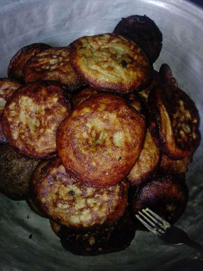 Massa used for drinking locally made ghanaian porridge