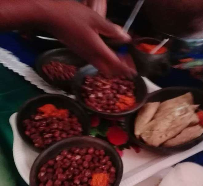 Garee locally prepared dish from beans