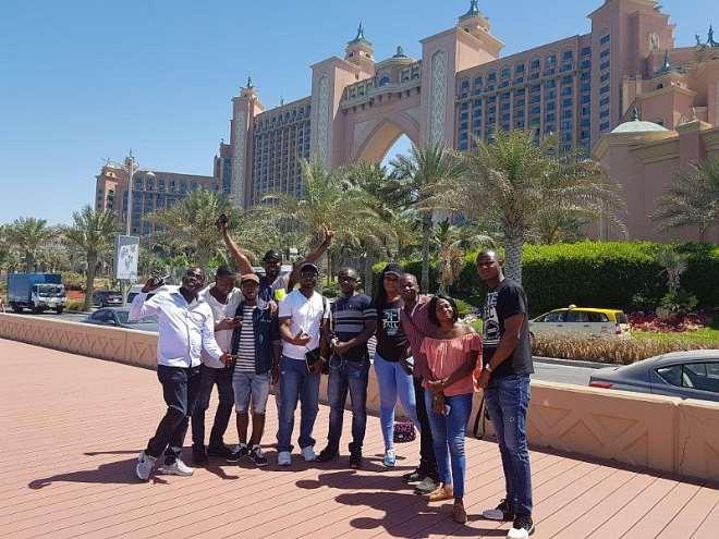 Mtn Customers At Burj Al Arab Hotel & Burj Khalifa