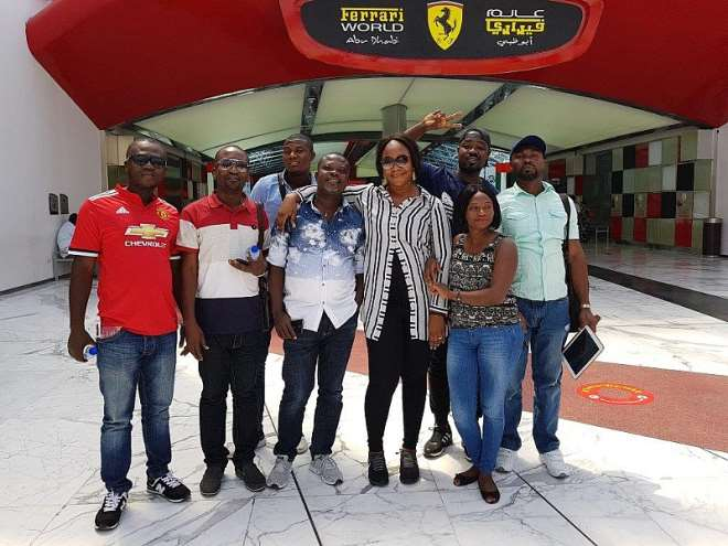 Spin The Wheel Winners At The Ferrari Park