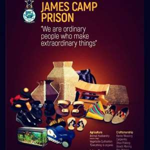 Inmates At James Camp Prison Exhibit Products