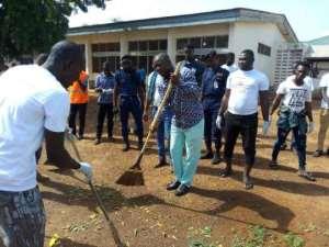 Aliu Mahama Foundation Cleans Yendi