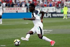David Accam Eager To Improve To Make Ghana's AFCON Squad