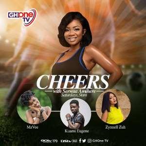 Serwaa Amihere Is New Host Of Weekend Sports Show CHEERS On Ghone TV